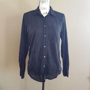 GAP Women's Cotton Button Down Shirt size M